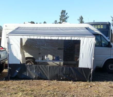 Markise Med Vegger Til Bobil Campingvogn